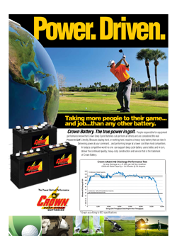Crown Golf folder
